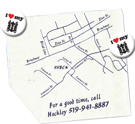 For a good time, call Hockley